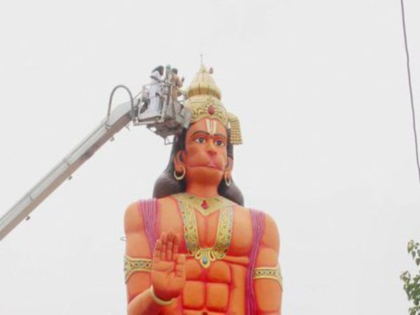 [Can prominent Hanuman statue in Delhi's Karol Bagh be relocated, asks High Court]