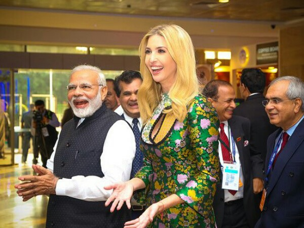 PM Modi and Ivanka Trump