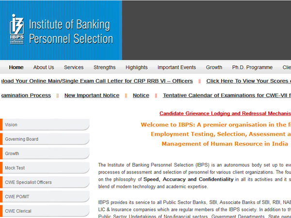 IBPS RRB Officer Scale Main Exam Results 2017 likely on November 25