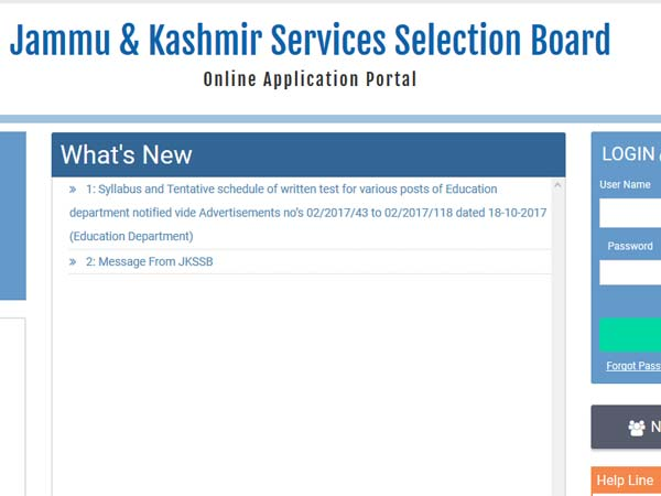 JKSSB releases list of job vacancies for 234 posts: Check full list here
