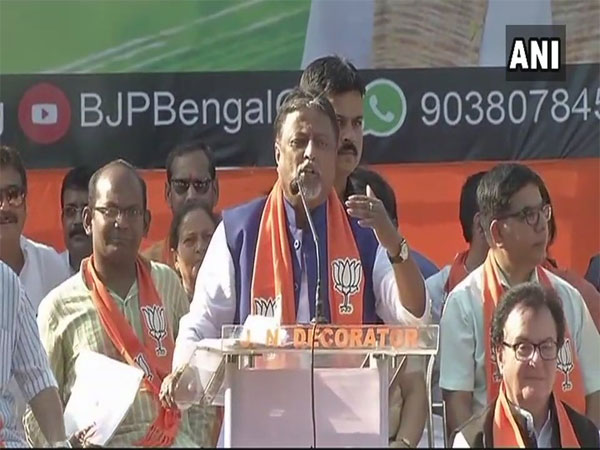 BJP leader Mukul Roy. Courtesy: ANI news