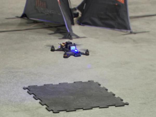 Human pilot beats AI systems in NASA's drone race. Courtesy: www.nasa.gov