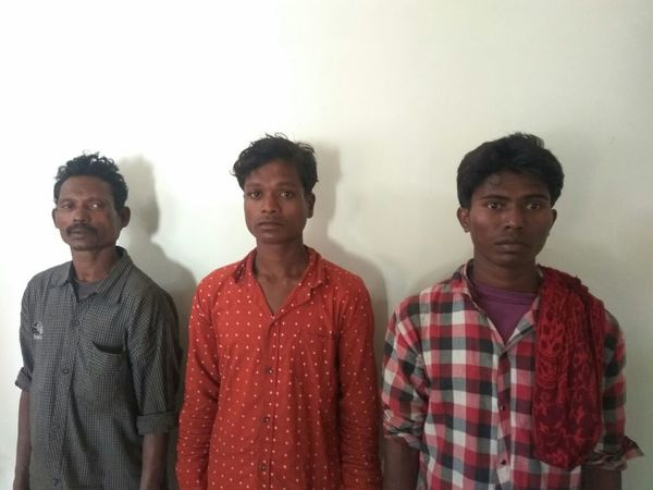 The arrested Naxals