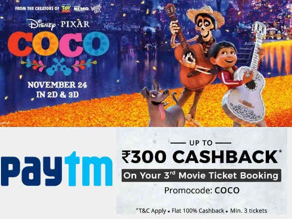 The Weekend Is Upon Us! Flat 100% Cashback On Movie Tickets*