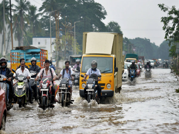 Six coastal districts to experience heavy rainfall. PTI file photo