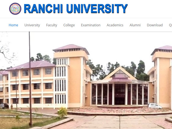 Ranchi University Exam Schedule