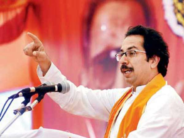 Shiv Sena chief Uddhav Thackeray