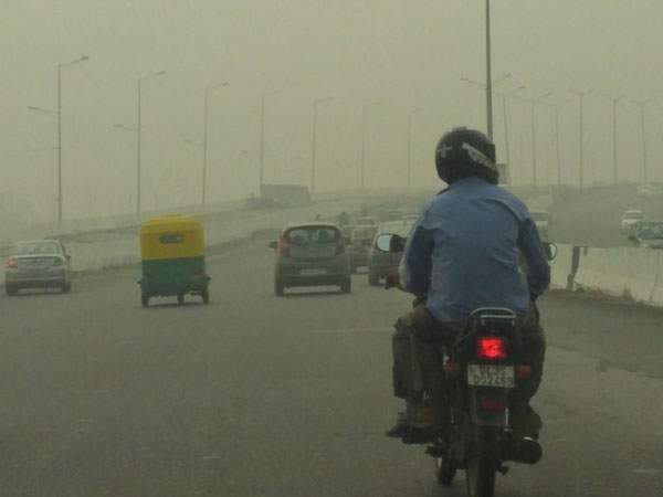 Delhi's air quality stood at
