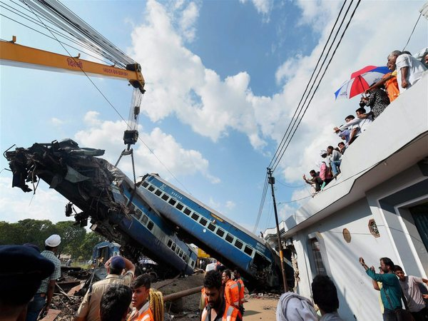 File photo of Muzaffarnagar train accident