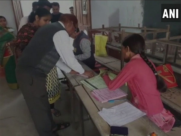 EVM malfunctioning in UP local body polls, AAP demands EC prob. Courtesy: ANI news