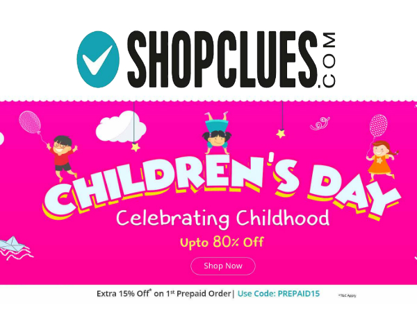 How To Make A Child Feel Special Today? Find Out at Shopclues!