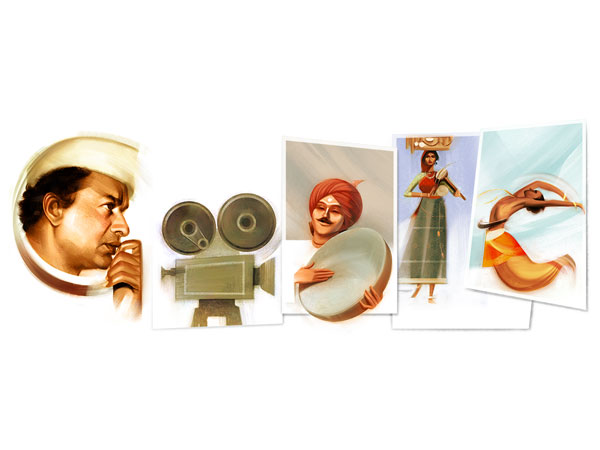 Google Dedicates a Doodle On V Shantaram's 116th Birthday