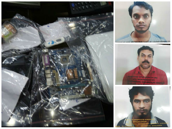 Al-Qaeda suspects held in Kolkata