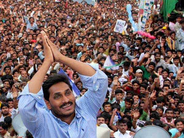 YS Jagan sets another milestone in Praja Sankalpa Yatra