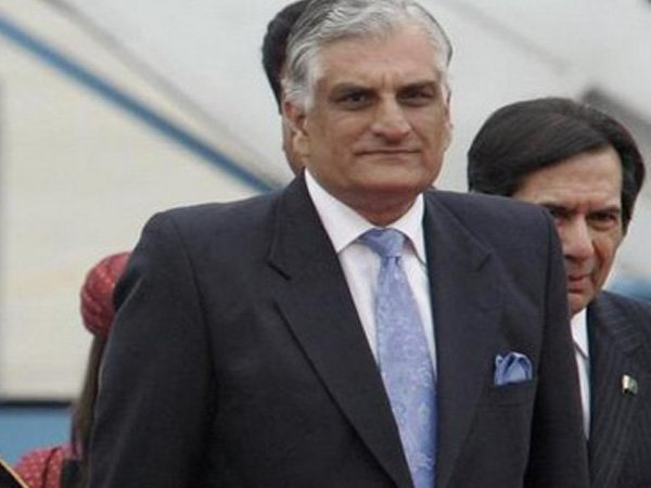 Pakistan's Law Minister Zahid Hamid resigns. Courtesy: ANI news