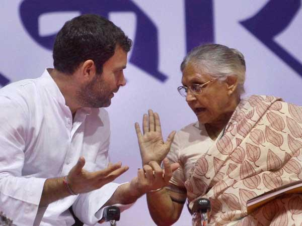 Proud history of Indian National Congress, says Sheila Dikshit