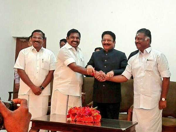 The grand AIADMK merger
