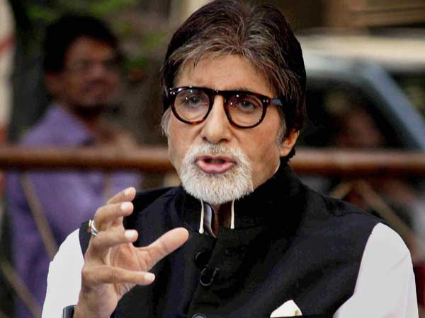 Megastar Amitabh Bachchan. PTI file photo