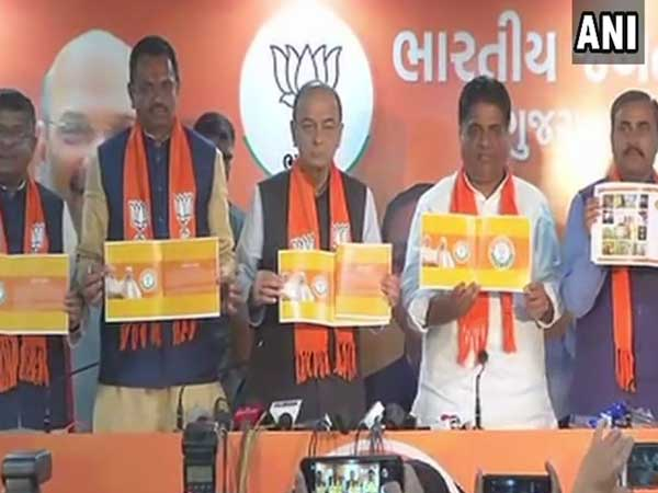 Gujarat Assembly Poll 2017: BJP releases manifesto sans Gujarat leaders' photos