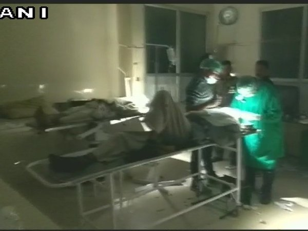 Cataract surgery in torch light on 32 patients in UP; probe ordered. Courtesy: ANI news