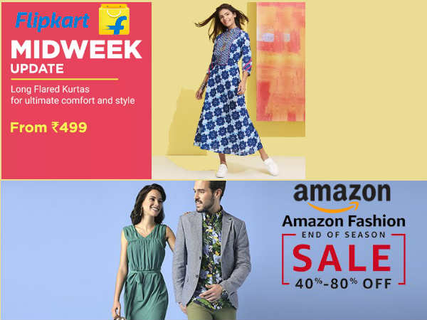 FACE TO FACE! Amazon Vs Flipkart Fashion Week, Take A Look Now