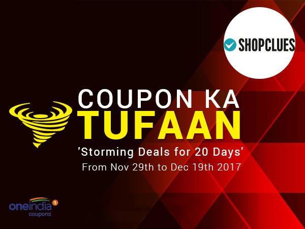 COUPON KA TUFAAN: ShopClues Fashion From Rs. 79* Only!