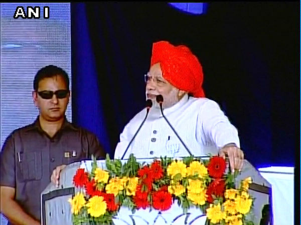 Gujarat assembly elections 2017: Modi addresses rally in Bharuch