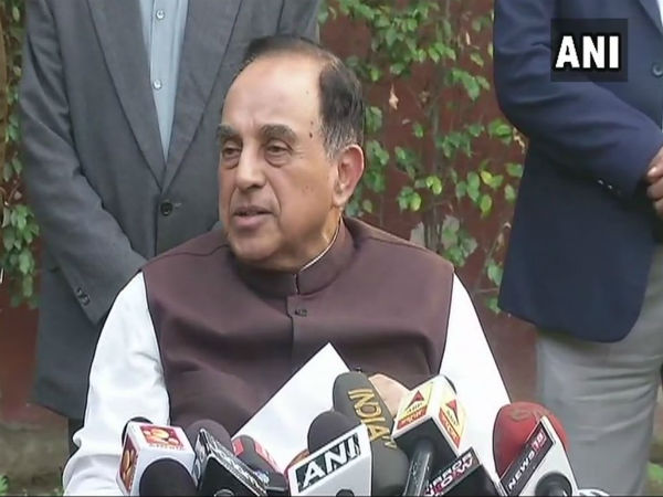 Subramanian Swamy says judgment was very bad