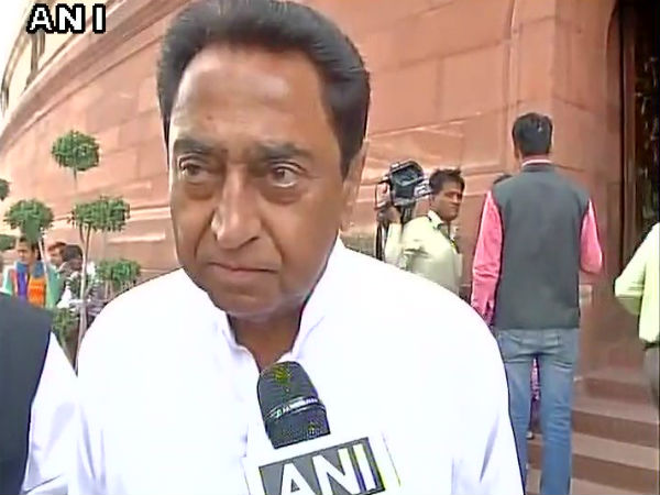MP: FIR registered against cop who aimed gun at Cong's Kamal Nath at airport