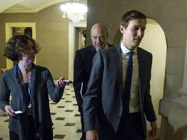 Jared Kushner, son-in-law of President-elect Donald Trump (right). PTI file photo