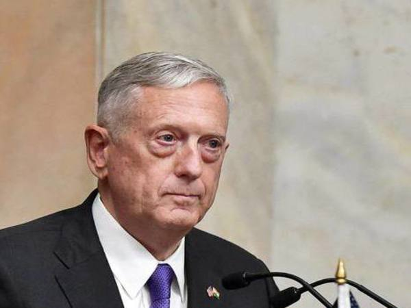 U. S. Defence Secretary Jim Mattis. PTI file photo