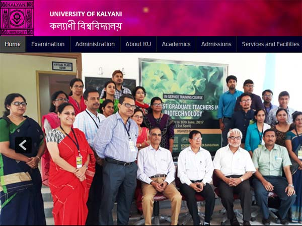 Kalyani University Degree Third Year Part 1 results declared, check now