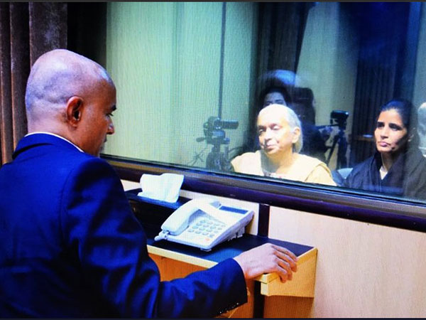 Kulbhushan Jadhav meeting with mother and wife. PTI file photo