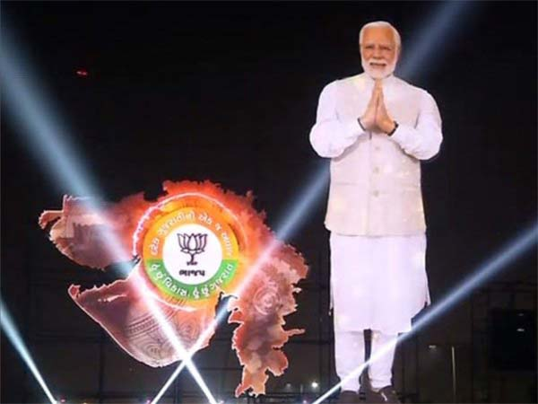 Gujarat assembly polls: A laser show by BJP to bag votes