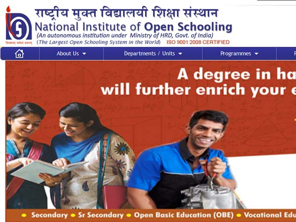 NIOS Class 12 October exam results 2017 declared on nios.ac.in