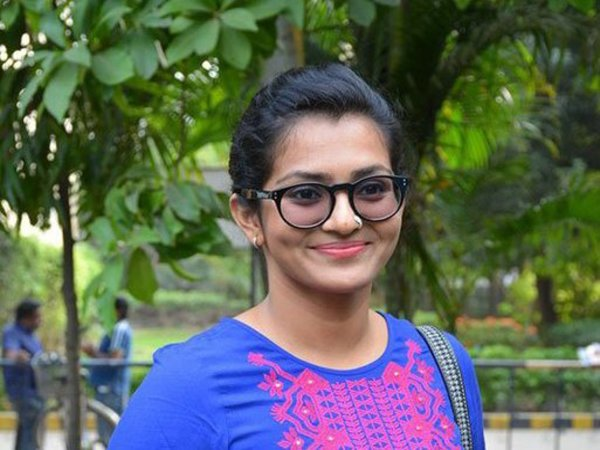 Actress Parvathy. Courtesy: @parvatweets