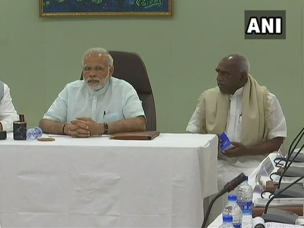 PM Modi reviews situation in Cyclone Ockhi-hit areas