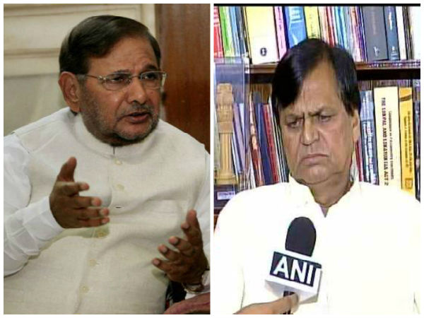 Sharad Yadav and Ali Anwar disqualified from Rajya Sabha