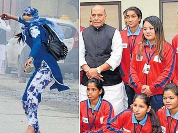 Winning hearts in Kashmir: Poster girl of stone pelters is now football team captain