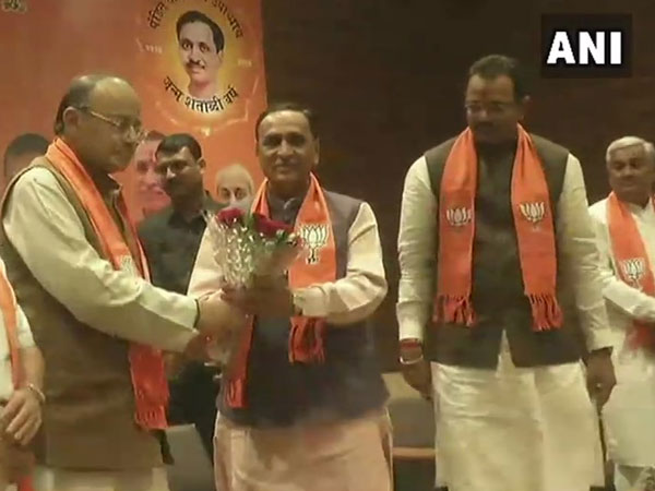 Vijay Rupani to continue as CM of Gujarat