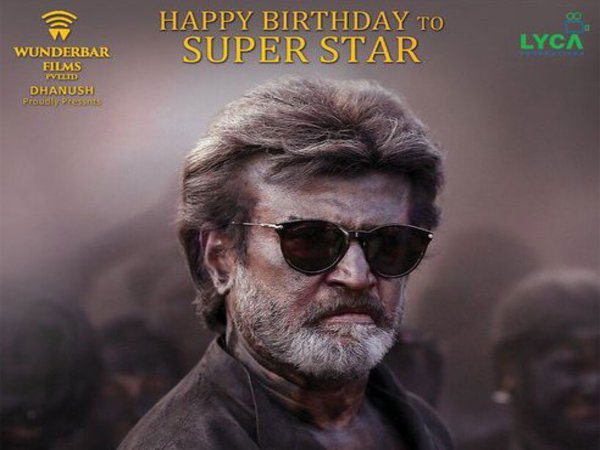 Dhanush releases second look of Kaala on Rajinikanth's birthday