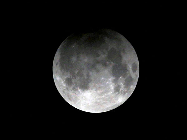 What will you see during the total lunar eclipse