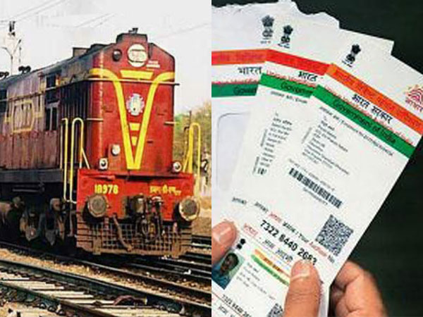 Aadhaar not mandatory to book train tickets: Railways