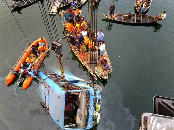 Bus plunges into canal in West Bengal: Death toll reaches 42