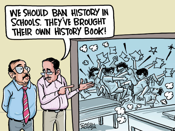 The battle over history enters schools.