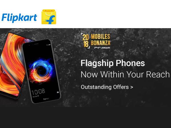 Flipkart 2018 Celebration! Rs.3000 Off on Latest Mobile Phones*