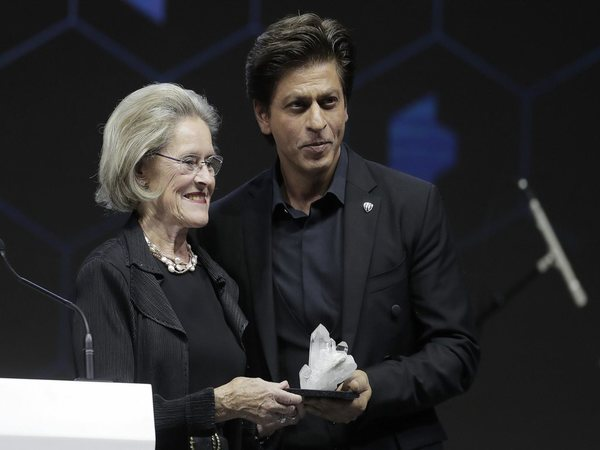 Shah Rukh Khan receives Crystal Award