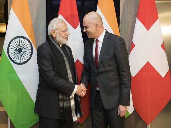 PM Modi with Swiss Federal President