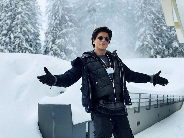 King Khan in signature style