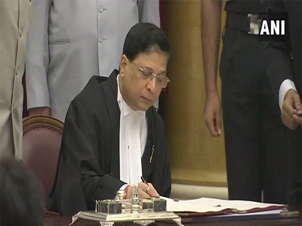 Chief Justice of India Dipak Misra. Courtesy: ANI news